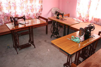 Sewing room, 3 machines