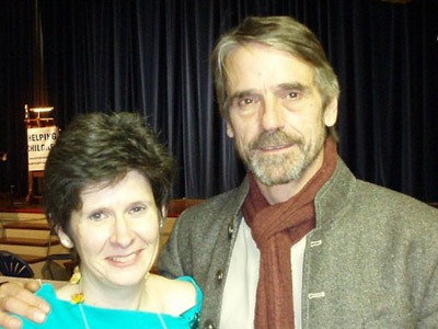 Karen Billing and Jeremy Irons