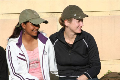 Toni Thomson and Sangita